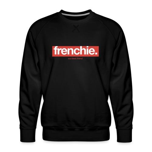 Frenchie Banner - Französische Bulldogge - Männer Premium Pullover