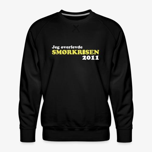 Smørkrise 2011 - Norsk - Premium-genser for menn
