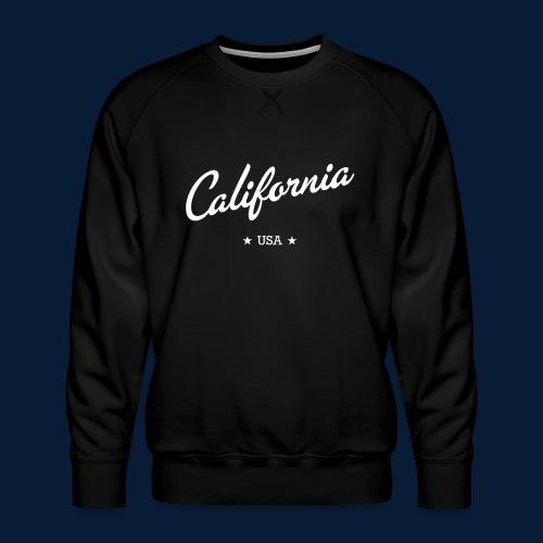 California - Männer Premium Pullover
