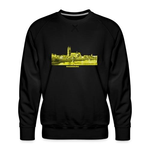 Magdeburg Dom Sachsen-Anhalt Deutschland Elbe - Männer Premium Pullover