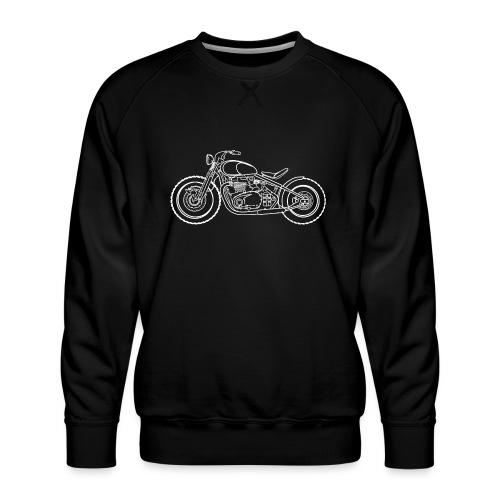 bonneville bobber Motorbike - Sweat ras-du-cou Premium Homme