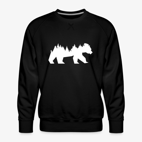 Bear Wald - Männer Premium Pullover