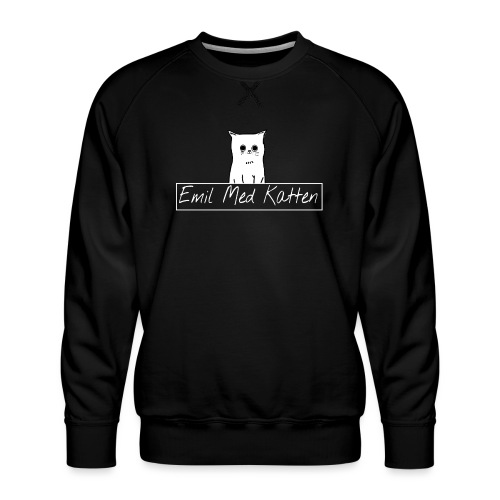 Emil Med Katten - Sniffer og Chilli - Men's Premium Sweatshirt
