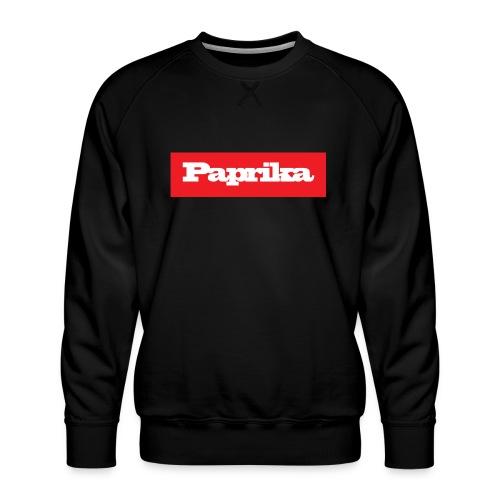 paprika - Männer Premium Pullover