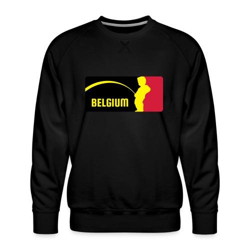 Mannekke Pis, Belgium Rode duivels - Belgium - Bel - Sweat ras-du-cou Premium Homme