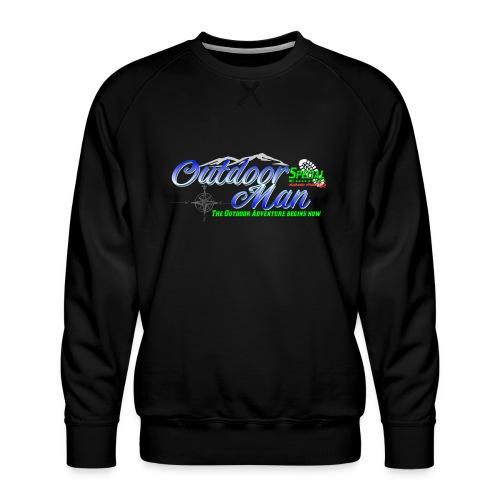 Special Edition Outdoor Man Wandern Vatertag - Männer Premium Pullover
