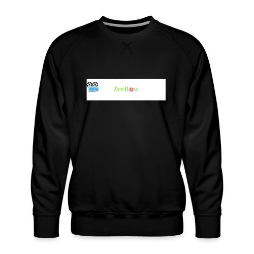 T-Shirt - Herre premium sweatshirt
