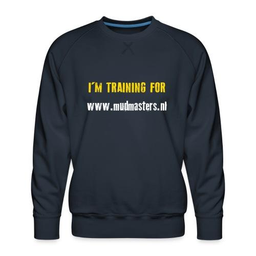 tshirt back - Mannen premium sweater