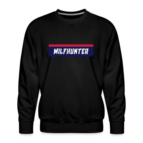MILFHUNTER Premium Logo - Männer Premium Pullover