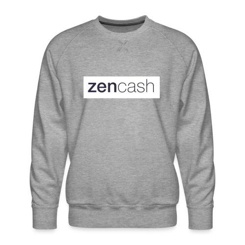 ZenCash CMYK_Horiz - Full - Men's Premium Sweatshirt