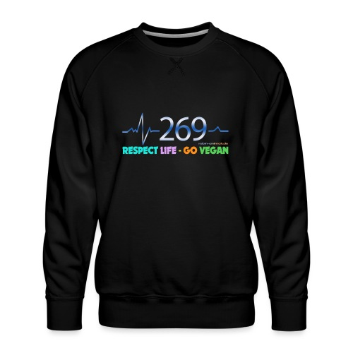 269 RESPECT LIFE - Männer Premium Pullover