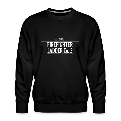 Firefighter Ladder Co. 2 - Herre premium sweatshirt
