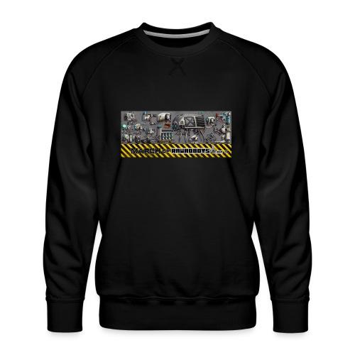 #MarchOfRobots ! LineUp Nr 1 - Herre premium sweatshirt