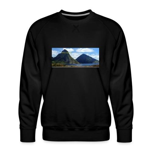 believe in yourself - Men's Premium Sweatshirt
