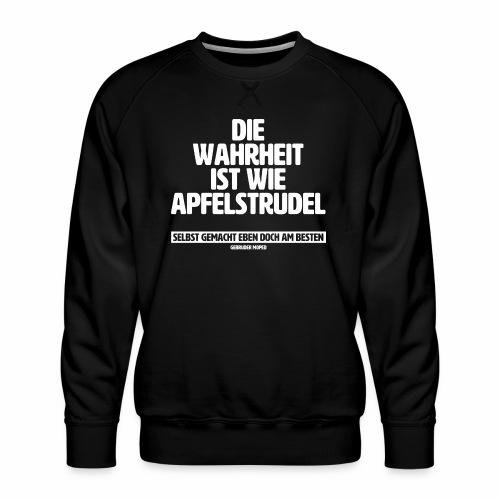 Wahrheit - Männer Premium Pullover