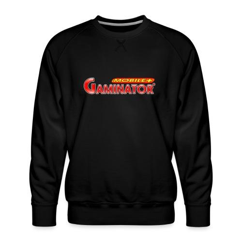 Gaminator logo - Men's Premium Sweatshirt