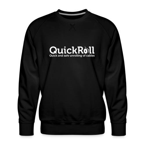 QuickRoll vit - Premiumtröja herr