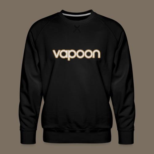Vapoon Logo simpel 2 Farb - Männer Premium Pullover