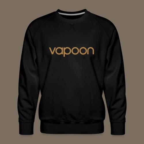 Vapoon Logo simpel 01 - Männer Premium Pullover