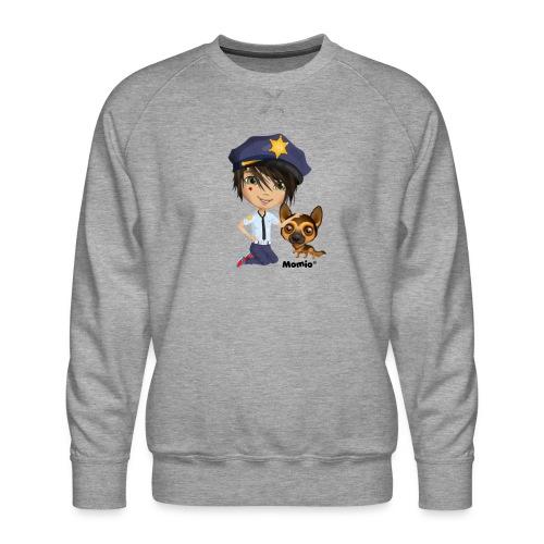 Jack und Hund - von Momio Designer Cat9999 - Männer Premium Pullover