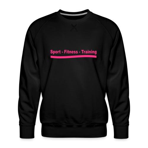 sport_fitness_training - Sweat ras-du-cou Premium Homme