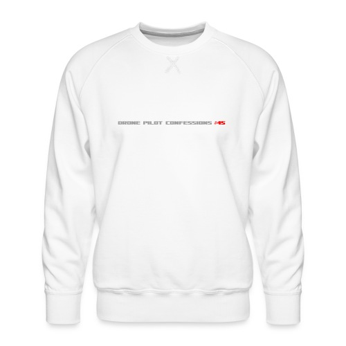 I CRASH A LOT - Men's Premium Sweatshirt
