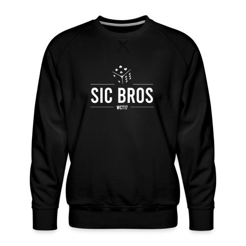 sicbros1 wct17 - Men's Premium Sweatshirt