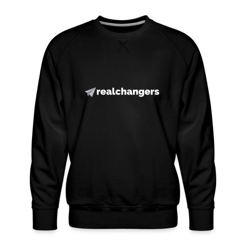 realchangers - Men's Premium Sweatshirt