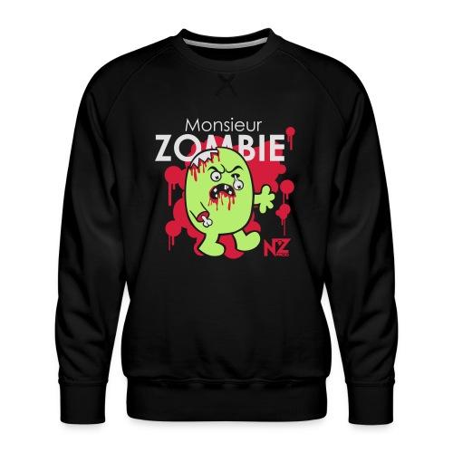 mr zombie - Sweat ras-du-cou Premium Homme