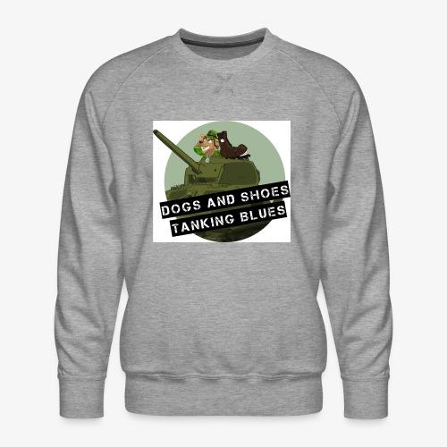 logo dogs nieuw - Mannen premium sweater