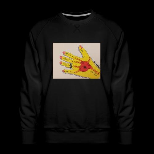 9D8D600F D04D 4BA7 B0EE 60442C72919B - Herre premium sweatshirt