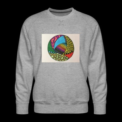 circle corlor - Herre premium sweatshirt