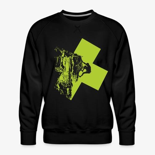 Climbing - Men's Premium Sweatshirt