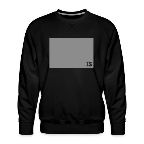JustSquares Grijs - Mannen premium sweater