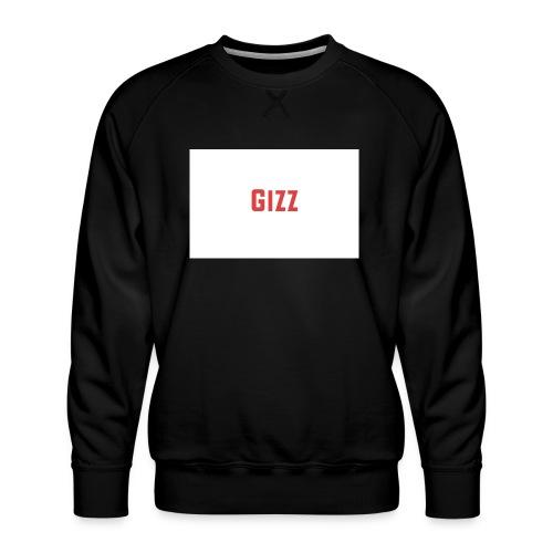 Gizz rood - Mannen premium sweater