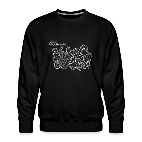 Regia TShirt Worm Clearbackground white - Men's Premium Sweatshirt