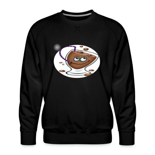 chocolate - Herre premium sweatshirt