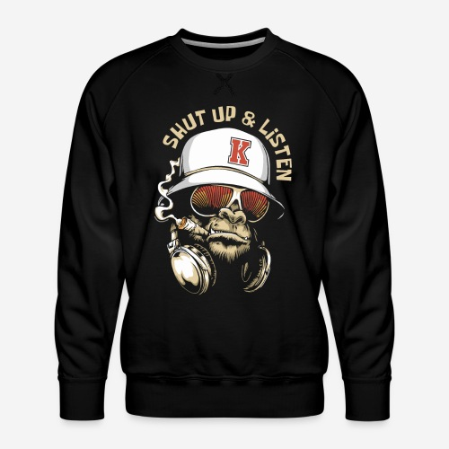 Gorillamusik - Männer Premium Pullover