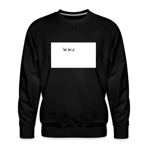 White Wolf Clothing - Herre premium sweatshirt