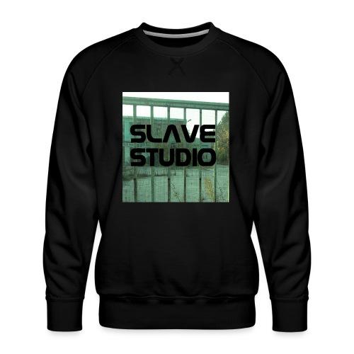 Logo_SLAVE_STUDIO_1518x1572 - Felpa premium da uomo