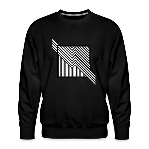 Lines in the dark - Men's Premium Sweatshirt