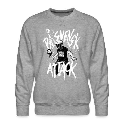 På Svenska Tack - Men's Premium Sweatshirt