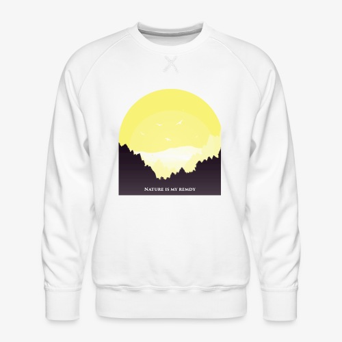 natureismyremedy - Men's Premium Sweatshirt