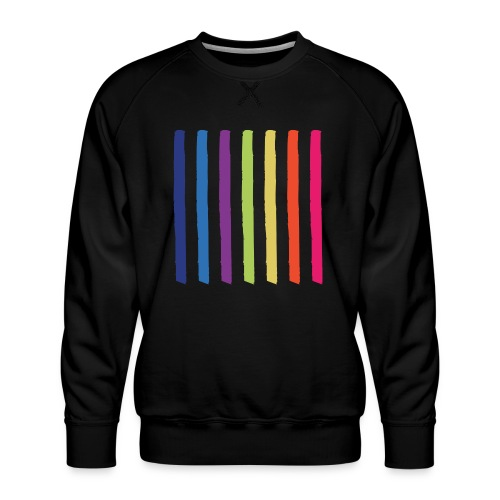 Linjer - Herre premium sweatshirt