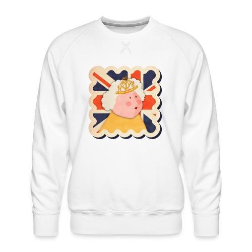 The Queen - Men's Premium Sweatshirt