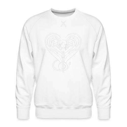 Sphinx valentine white - Men's Premium Sweatshirt