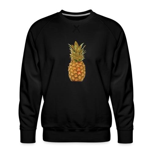 Ananas large - Sweat ras-du-cou Premium Homme