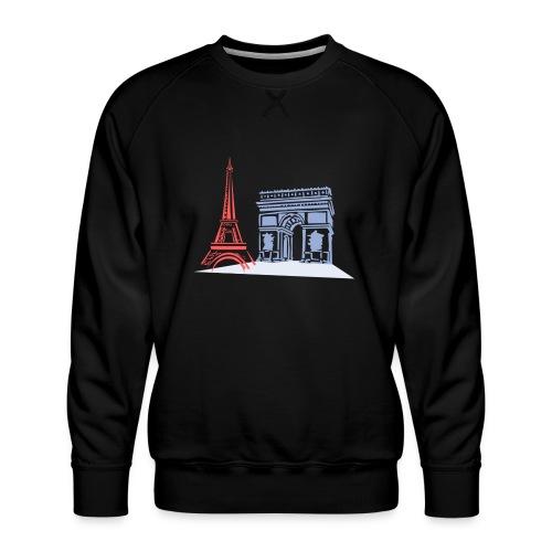 Paris - Sweat ras-du-cou Premium Homme
