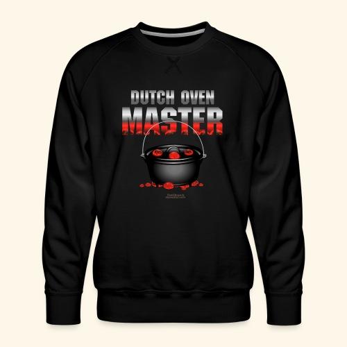 Dutch Oven T Shirt Dutch Oven Master - Männer Premium Pullover