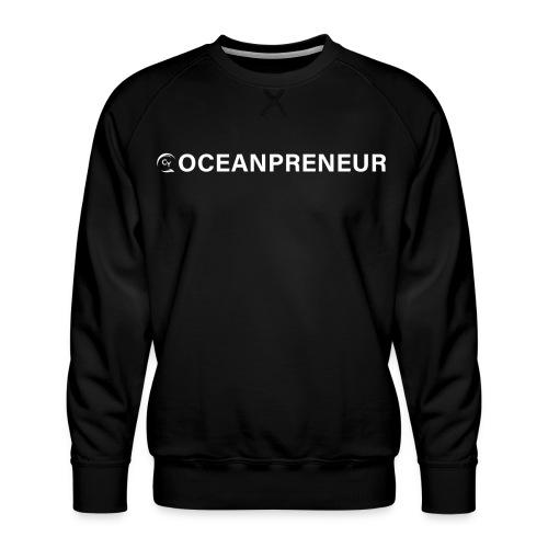 oceanpreneuer white - Männer Premium Pullover